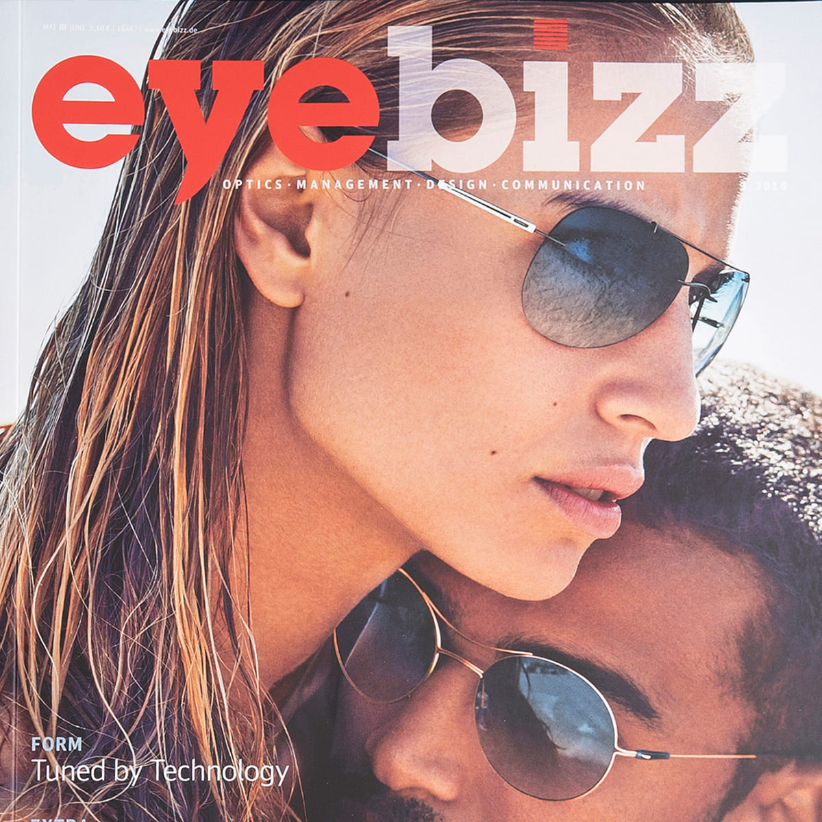 gloryfy Eyebizz Magazin Gi16 Headliner Black and White Sonnenbrille