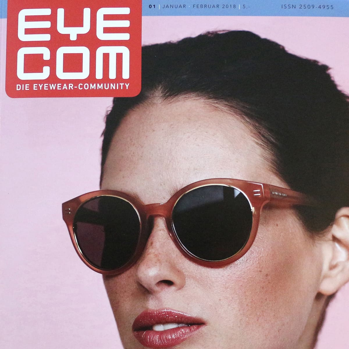 gloryfy Eyecom Magazin 5th Avenue Dark Havanna optische Brille